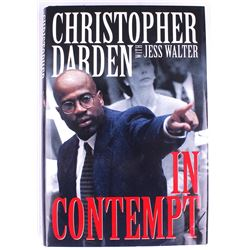 a report on the novel in contempt by christopher a darden and jess walter