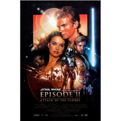Star Wars: Episode II - Attack of the Clones Version B One-Sheet Poster Signed by Drew Struzan