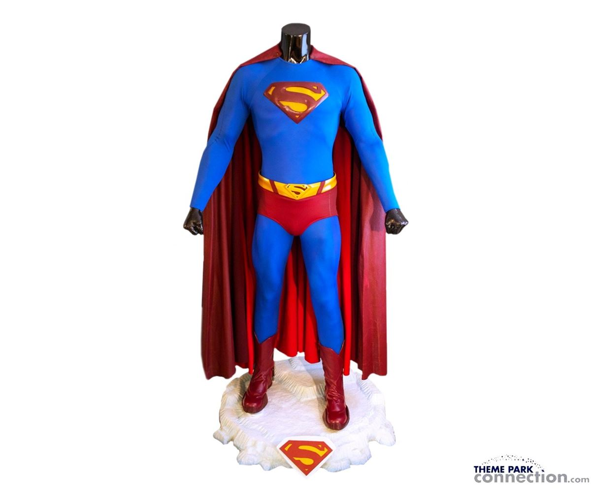 Image 1  Superman Returns 2006 Brandon Ruth Complete Hero Flying Suit With Custom Ice Base ...  sc 1 st  iCollector.com & Superman Returns 2006 Brandon Ruth Complete Hero Flying Suit With ...