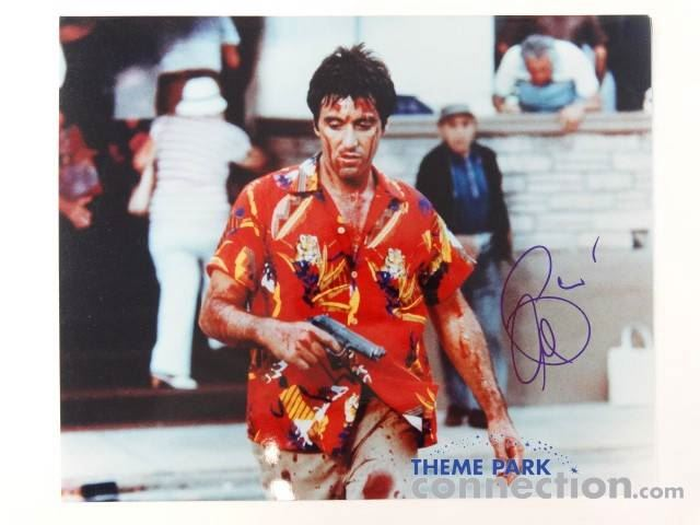 Image 1 SCARFACE 1983 Movie Actor AL PACINO Tony Montana Signed Autograph Photograph