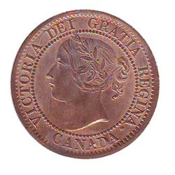 1 cent 1859 CCCS MS-64; Red, Narrow 9, Repunched 85. Superb near gem coin.