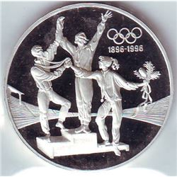 Australia: 20 dollars 1993, Olympics Series, 3 athletes on podium, KM # 218. Proof coin containing 1