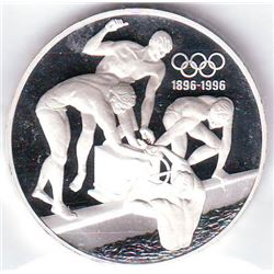 Australia: 20 dollars 1993, Olympics Series, swimmers, KM # 219. Proof coin containing 1.000 oz ASW.