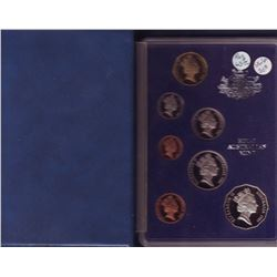 Australia Proof Set 1983 in hard plastic case.