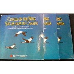 50 cents 1995, Discovering Nature Series; Birds of Canada 4 coins set. Box a bit impaired.
