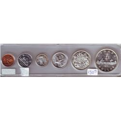 1953 uncirculated set in snap on Whitman hard plastic holder.