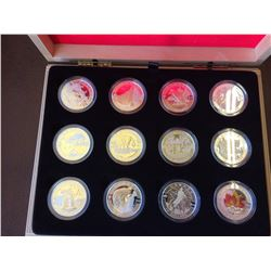 10 dollars 2013 Fine silver OH Canada-10 coins set