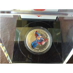 15 dollars 2014 Superman, modern day, in original case with COA and box.