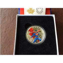 20 dollars 2014 Superman, Comic book covers: Annual # 1 from 2012, in original case with COA and box