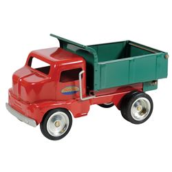 "Toy dump truck, Tonka Toys, mfgd by Hasbro, Inc., pressed steel, c.1996, Exc cond, 11.5""L."