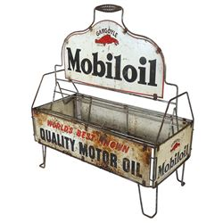 Petroliana display rack mobiloil gargoyle world 39 s best for Best motor oil in the world