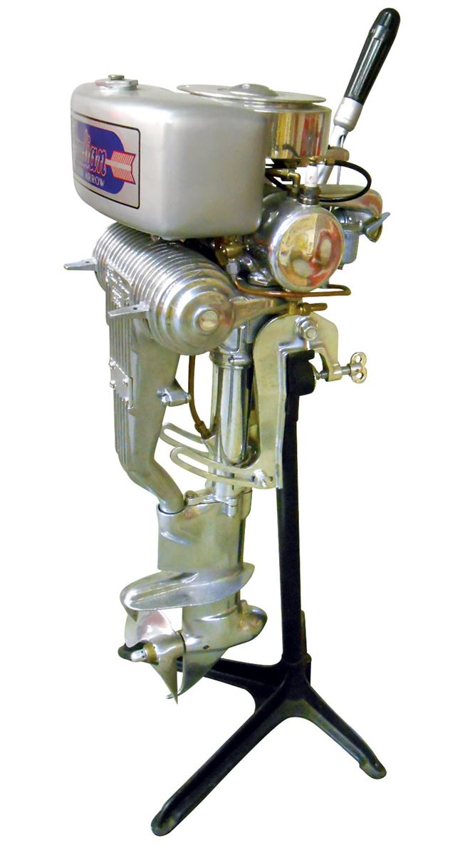 Boat Motor Indian Silver Arrow 10hp Serial Do 1399