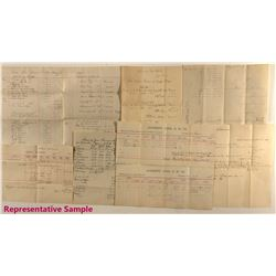 Densmore Consolidated Gold Mining Company Assay Archive
