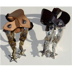 2 pairs half scale lady leg spurs