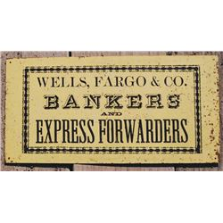 Original Wells Fargo & Co sign