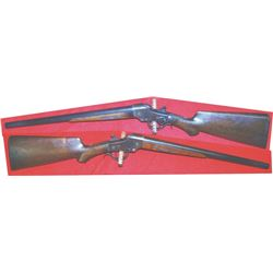 Hopkins & Allen 16 ga falling block saddle ring shotgun