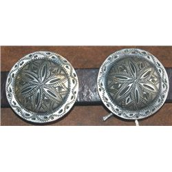 "Wimmer 2""  silver conchos"