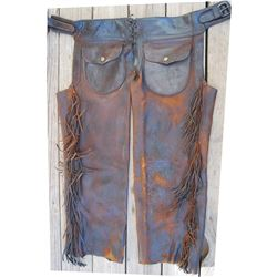 circa 1900 Clark step in chaps