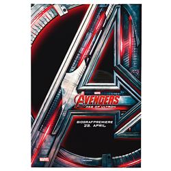 Avengers: Age of Ultron - Original Danish Theatrical Teaser Poster