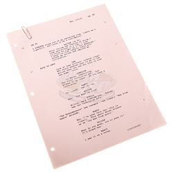 Back To The Future - Rare Script Changes with Deleted Scene