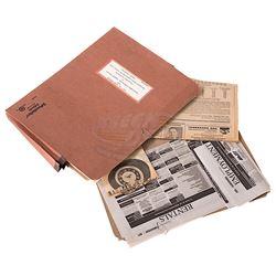 Big Eyes - Margaret Keane Legal Folder & Paperwork