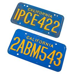 Blind Date - Prop License Plates