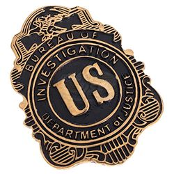Boardwalk Empire (TV) - Eliot Ness' FBI Badge (Jim True-Frost)