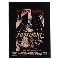 "Batman - Prop Monarch Theater Poster ""Footlight Frenzy"""