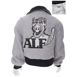 "Alf (TV) - Mihaly ""Michu"" Meszaros' Custom Cast & Crew Gift Jacket"