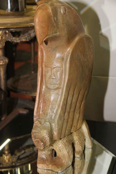 Mystical soapstone carving by anthony antoine