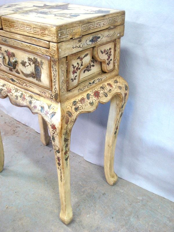 Hand Painted Dressing Table Hand Painted Dressing