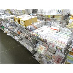 Entire Inventory of Greeting Cards (No Racks) - Very Large Lot 1000's
