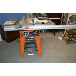 Ridged 10 cast iron table saw model ts 3650 and extra for 10 dado blade for table saw