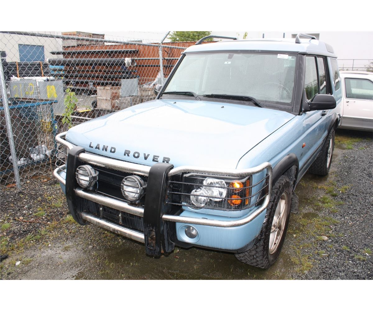 2003 Land Rover Discovery Ii Se 4drsw Vin  Salty16413a798912