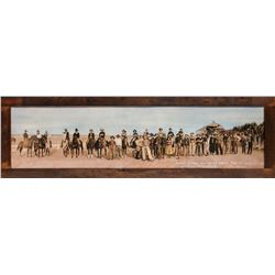 Hand Colored Panorama Photograph