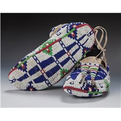 Sioux Fully Beaded Moccasins
