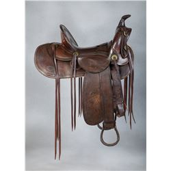 R. A. Wilkerson Loop Seat Saddle