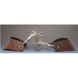 August Buermann Spurs with R. B. Knox Straps