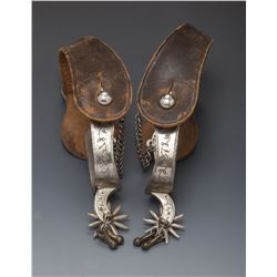 1870s Marked August Buermann Spurs