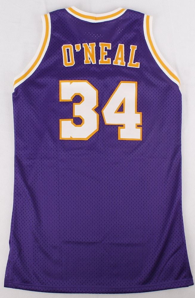 3a3fec9530c Image 3 Shaquille ONeal Signed Lakers Jersey (PSA COA) .