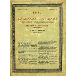1932 Baranowsky Catalogue of Roman Coins