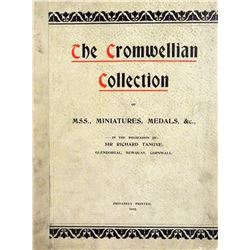 A Scarce Catalogue of a Major Cromwellian Collection