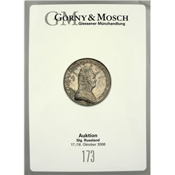 Gorney & Mosch Sales Featuring Russian Coins