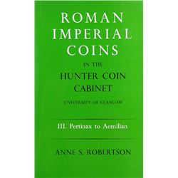 The Hunterian Roman Imperial Coins, III