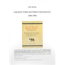Spring on Auction Catalogues Featuring Ancient Coins