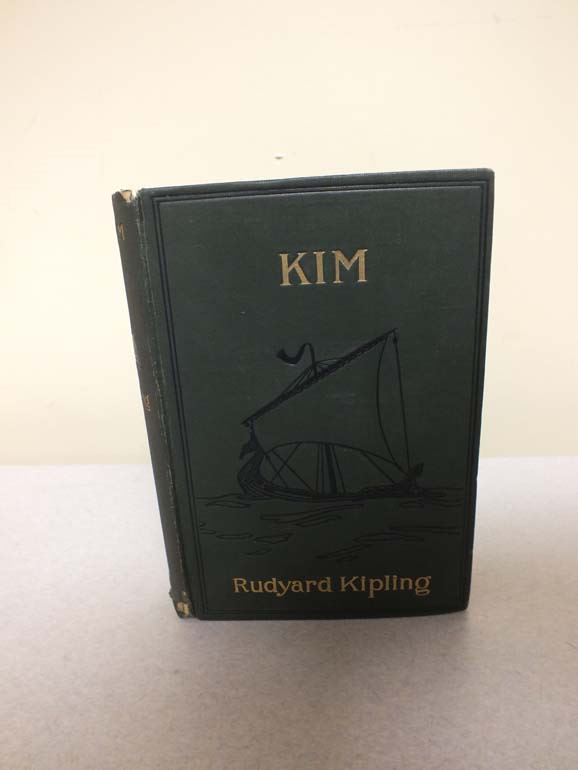 kim by rudyard kipling Once more the lazy, string-tied, shuffling procession got under way, and she slept till they reached the next halting-stage it was a very short march, and time lacked an hour to sundown, so kim cast about for means of amusement.
