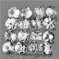 LOT OF 1.37 CTS OF WHITE ZIRCON