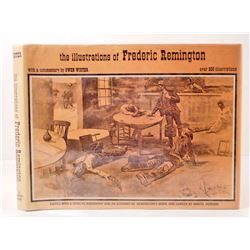 "1970 ""ILLUSTRATIONS OF FREDERIC REMINGTON"" HARDCOVER BOOK W/ DUST JACKET"