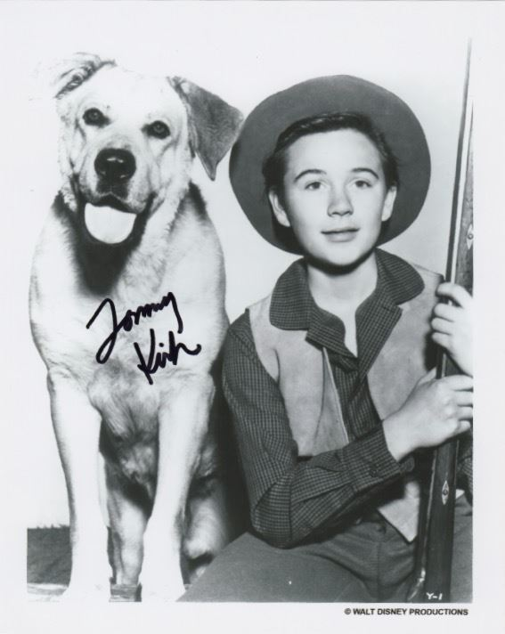 Tommy Kirk Signed Photo As Travis Coates From Disney S Old Yeller