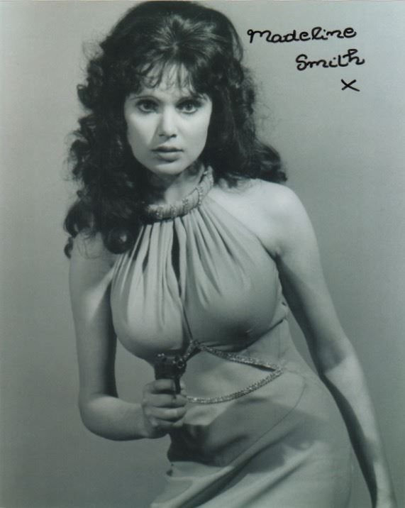 Madeline Smith Signed Photo from James Bond's Live and Let Die